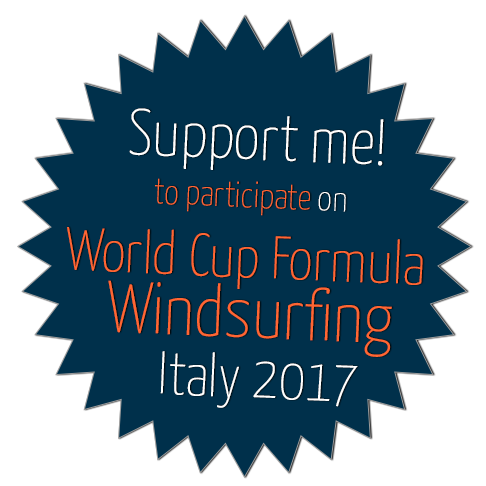 Suppor me to participate on World Cup Formula Windsurfing